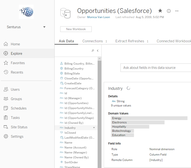 Tableau's New Ask Data Feature – A Primer